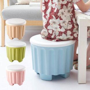 storage plastic stool seat home decor products