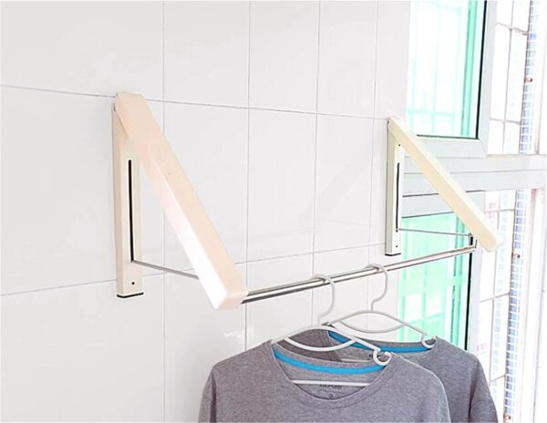 wall mounted clothes hanger rod in pakistan
