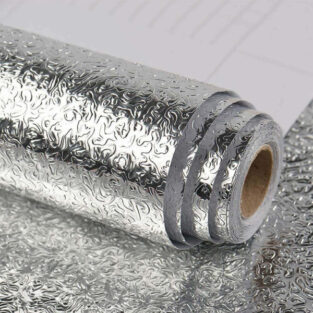 Kitchen wall stove aluminum foil oil-proof stickers in Pakistan