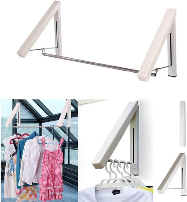 best wall mounted folding clothes hanger buy online price in pakistan blessedfriday