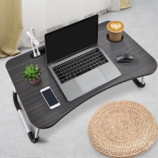 wooden folding laptop table