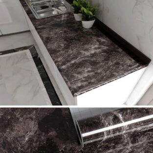 Home Marble Paper Self Adhesive