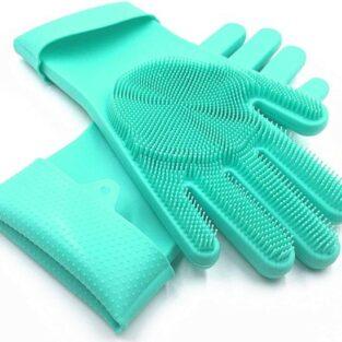 Silicone Dishwashing Gloves blessedfriday