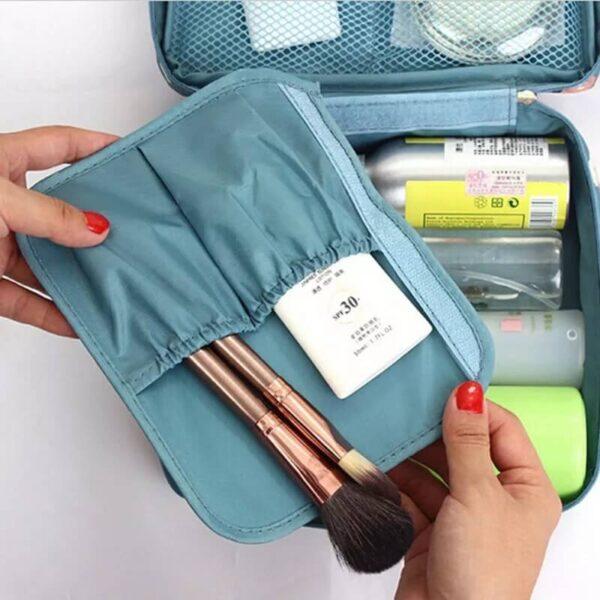 new handle zipper women makeup bags