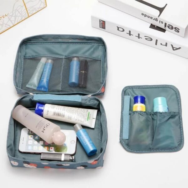 waterproof hanging travel makeup toiletry bag