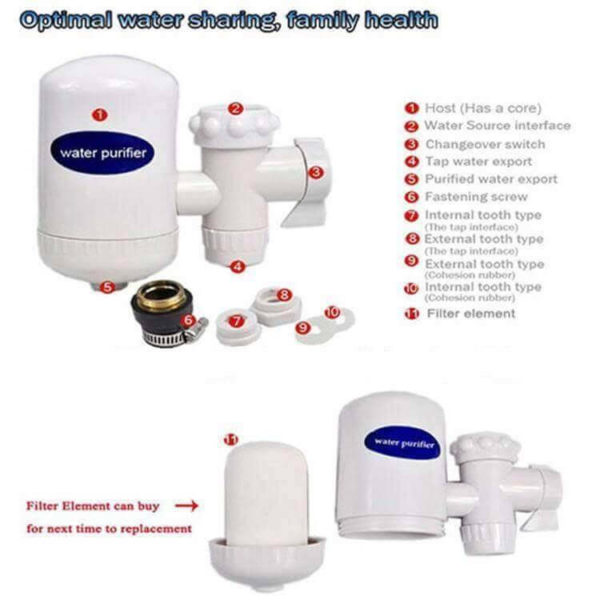 SWS Hi-Tech Ceramic Cartridge Water Tap Purifier in pakistan