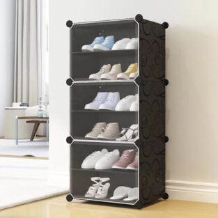 Transparent clear plastic shoe storage box in Pakistan blessedfriday