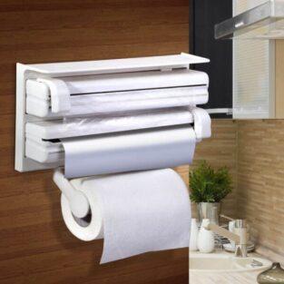 paper towel plastic wrap aluminum foil dispenser blessedfriday
