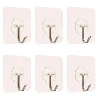Adhesive Hooks Stick Hook BlessedFriday.pk