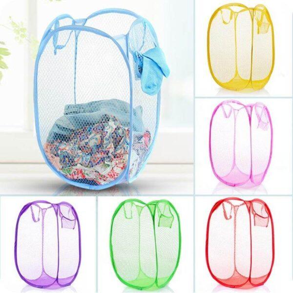 circular mini laundry basket