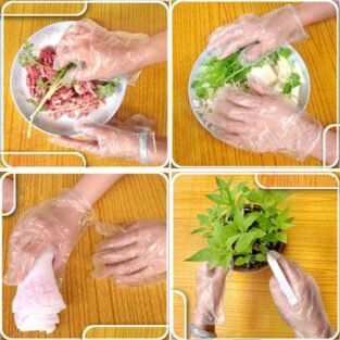 Thicker Disposable Food Prep Gloves BlessedFriday.pk
