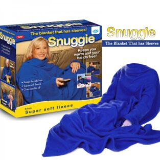 Blanket with Snuggie Sleeves BlessedFriday.pk