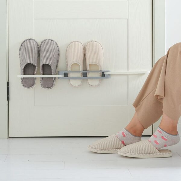towel holder wall mounted shelf bedroom shoes storage hanger