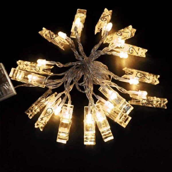 5M LED String Lights with Photo Clip in Pakistan