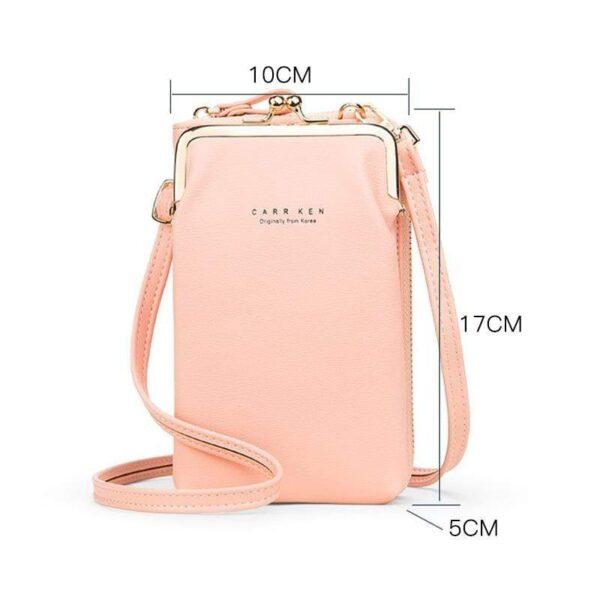 Size of Smartphone Shoulder bag