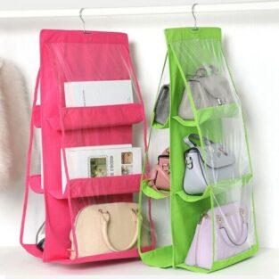 container store purse organizer