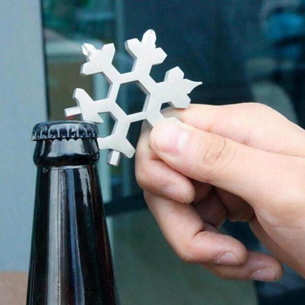 18-in-1 snowflake tool uses