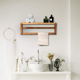 wall mounted towel rack blesedfriday