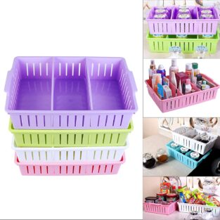 plastic organizer box with dividers
