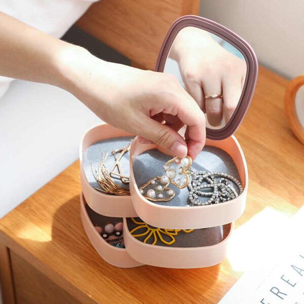 rotating jewelry organizer blessedfriday