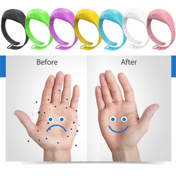 hand sanitizer wristbands bleessedfriday