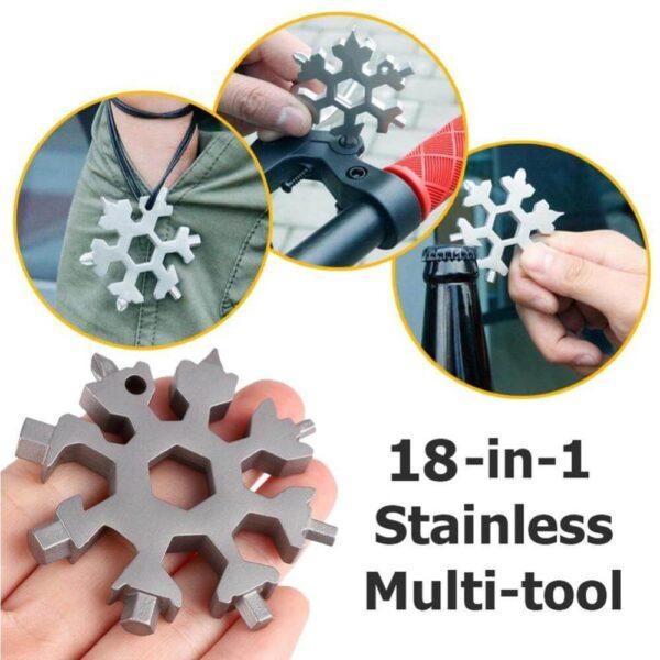 Best 18-in-1 snowflakes multi-tool