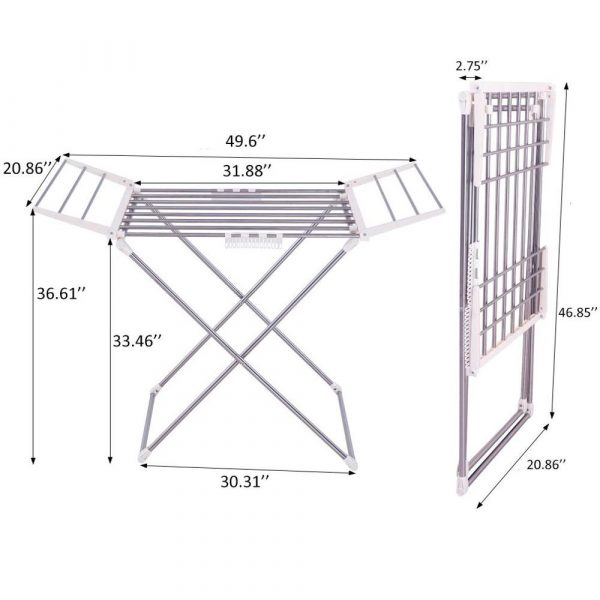 foldable drying rack blessedfriday.pk
