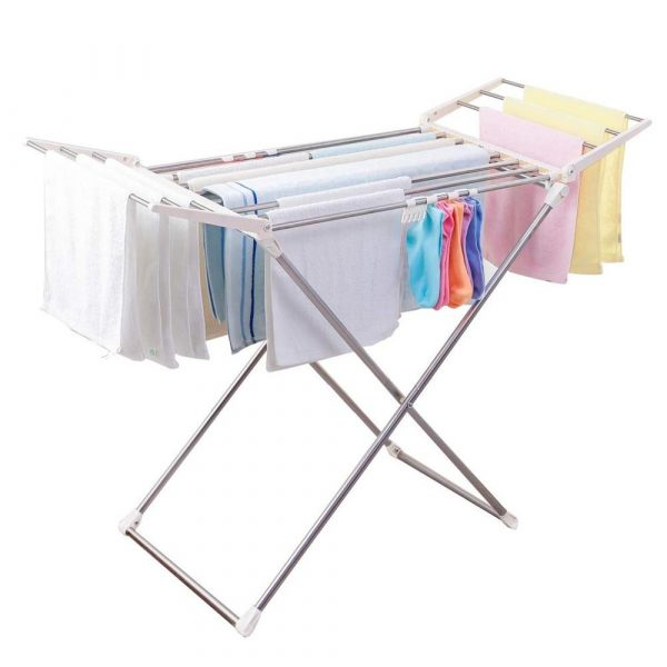 foldable stainless steel clothes drying rack