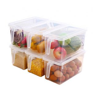 storage box with lid and handles