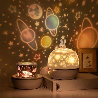 stars starry sky projector night light romantic dreamlike planetarium lamp
