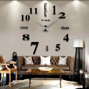 diy 3d acrylic wall clock blessedfriday.pk