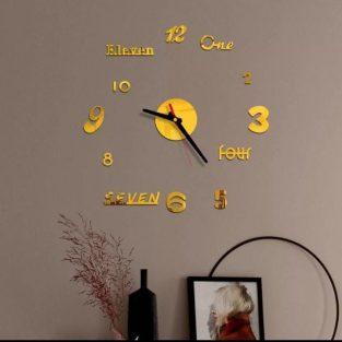 best frameless wall clock