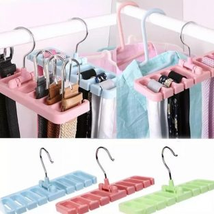 belt and tie hanger