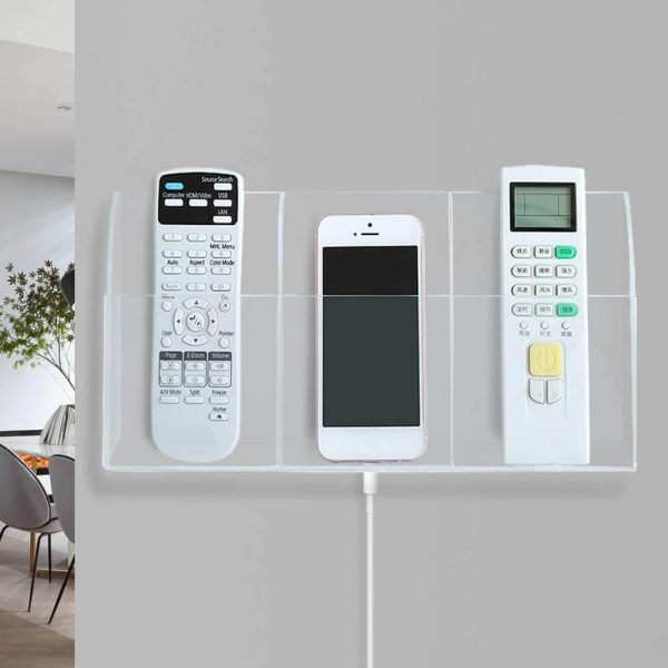 diy remote control holder wall mounted