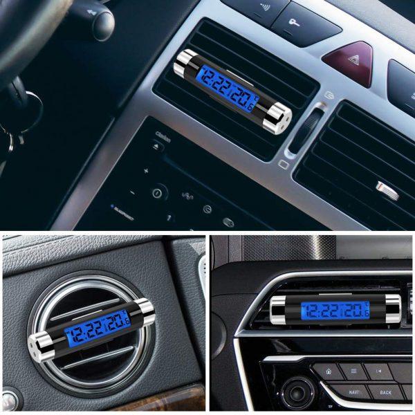 digital clock for car dashboard online