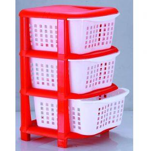 3 drawer plastic storage with wheels