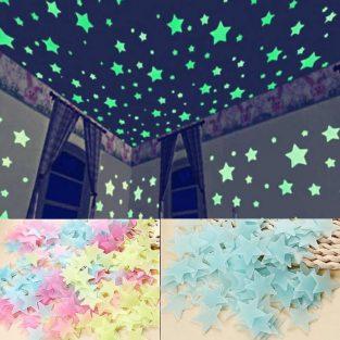 glow in the dark stars stickers blessedfriday.pk