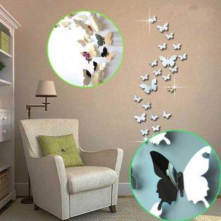 3d butterfly wall stickers in pakistan